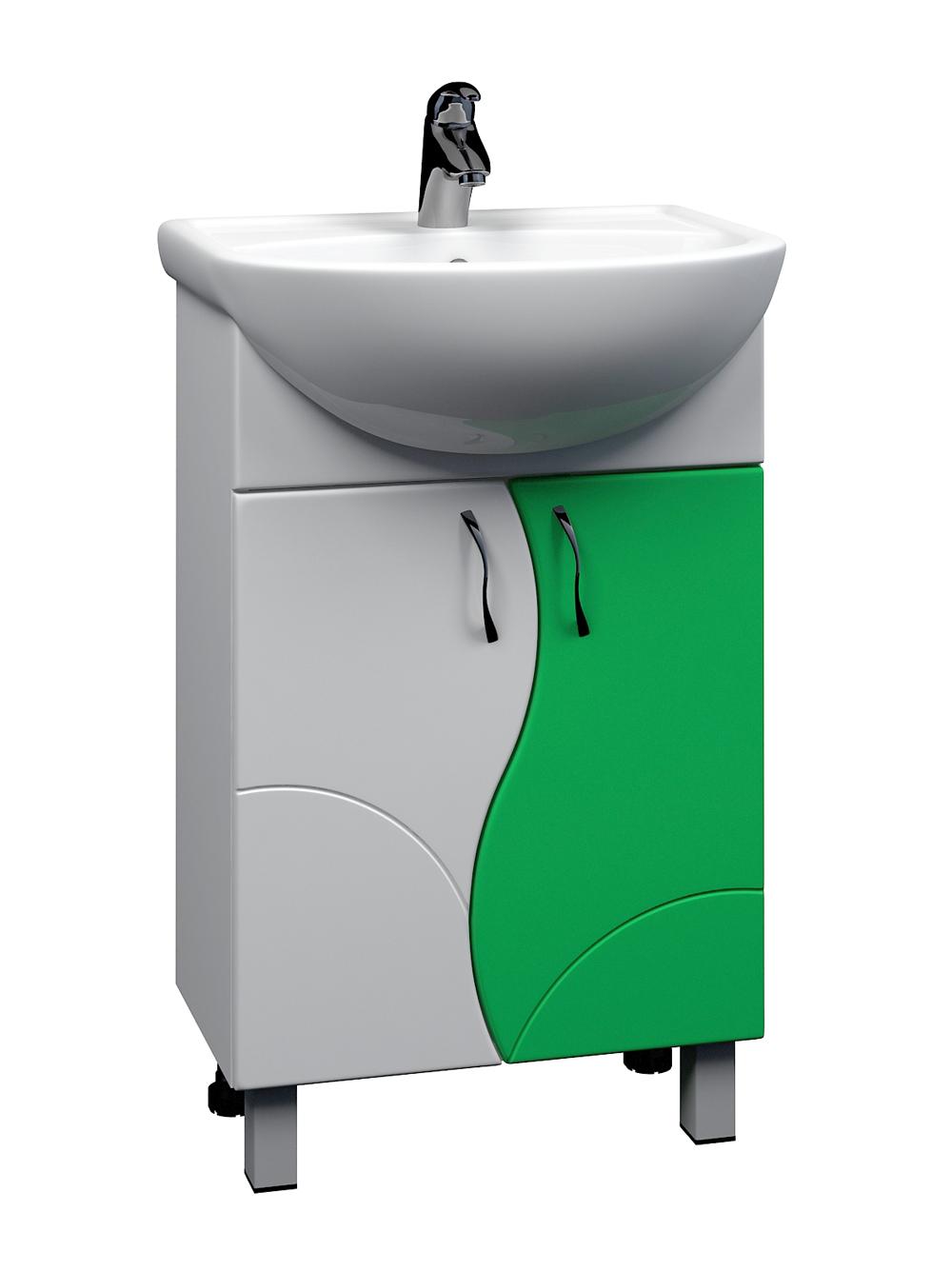 Тумба Alessandro 4-550 зеленый (Уют)