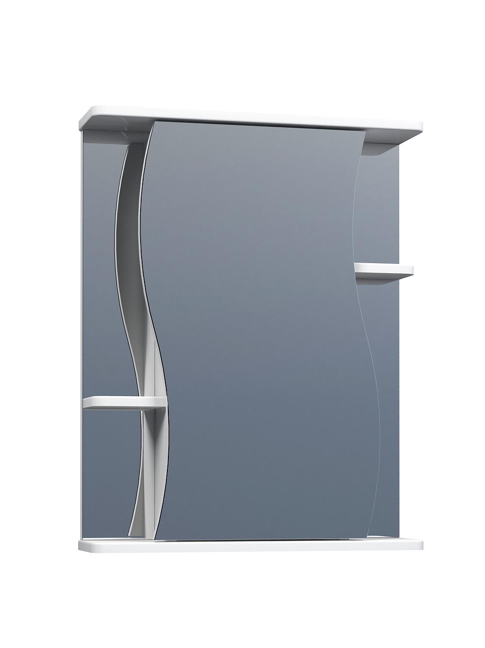 Зеркальный шкаф Alessandro 3-550 белый