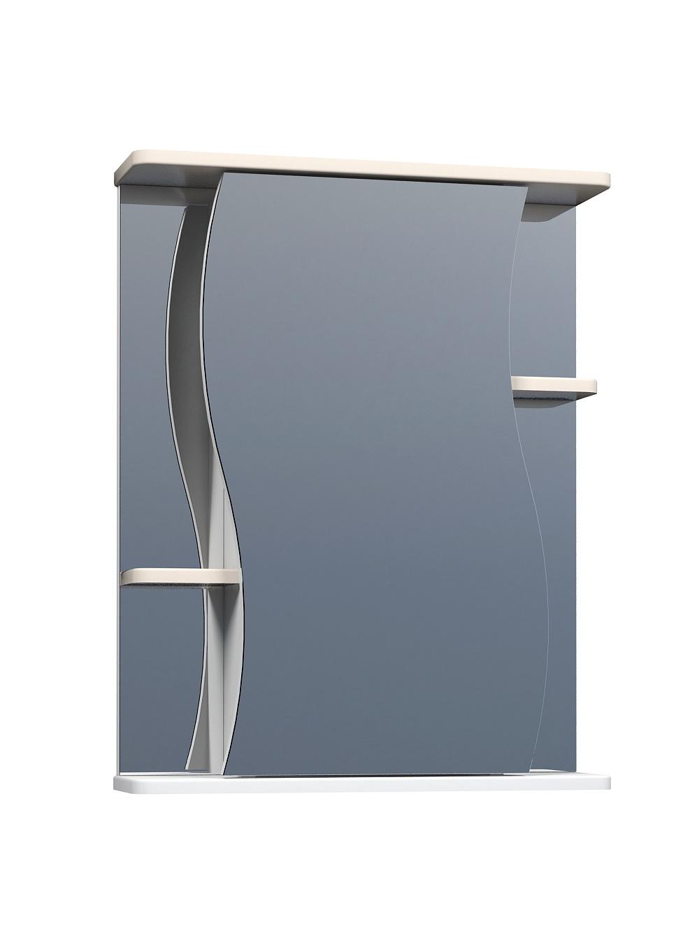 Зеркальный шкаф Alessandro 3-550 бежевый